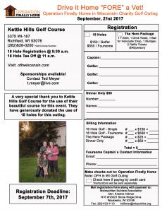 OFH Golf Registration