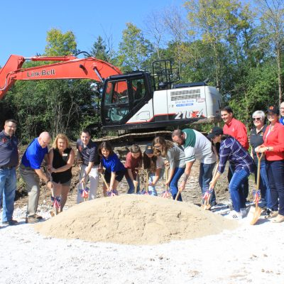 Cole Family Ground Breaking