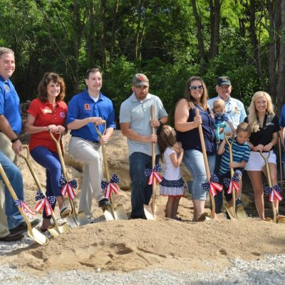 Davis Family Ground Breaking